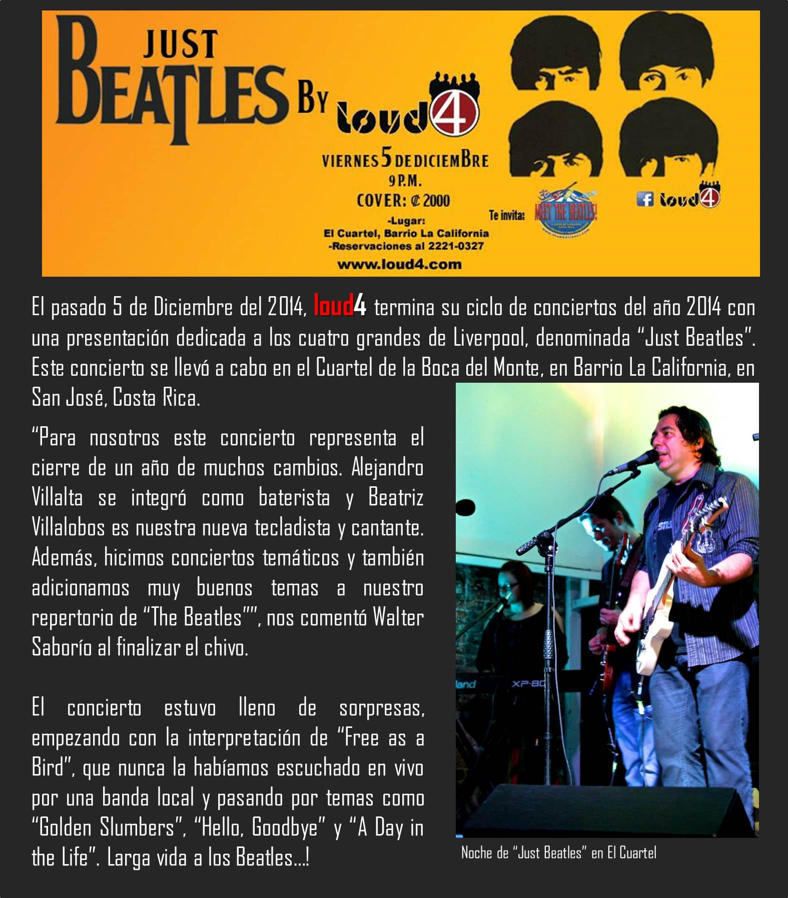 cronica just beatles